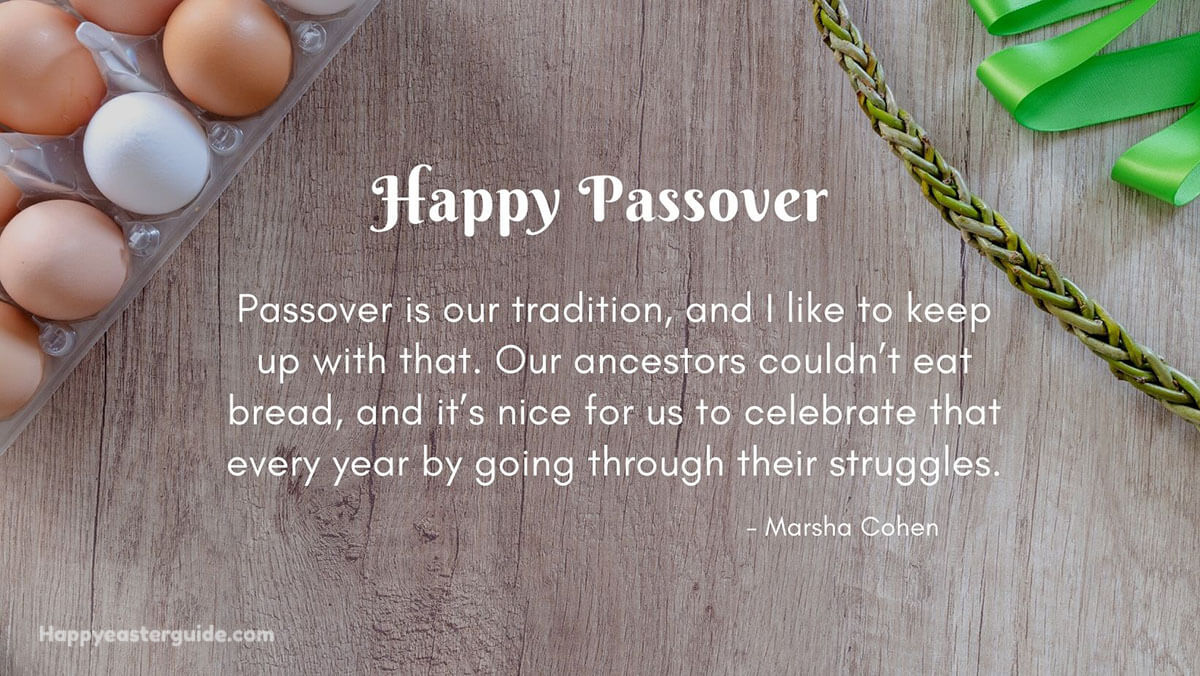 Passover Quotes
